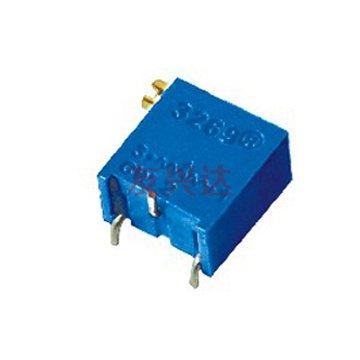 多圈电位器3296X实物图