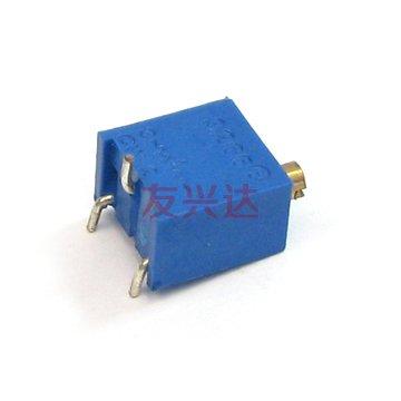 多圈电位器3296W实物图