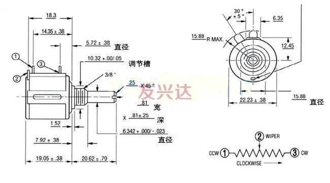 精密电位器JML3540S
