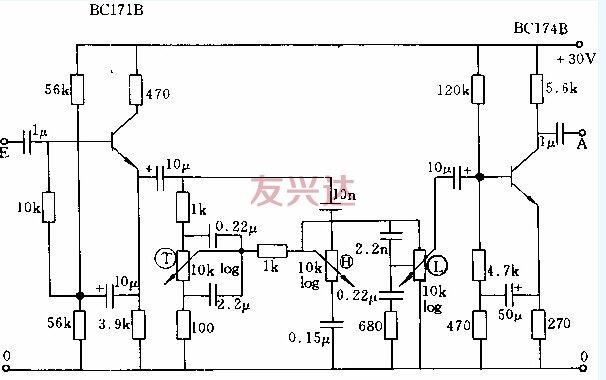音量电位器接线图